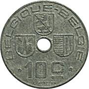 10 Centimes - Léopold III (BELGIQUE-BELGIE) -  reverse