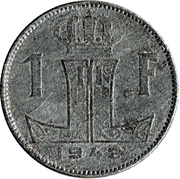 1 Franc - Léopold III (BELGIE-BELGIQUE) – reverse