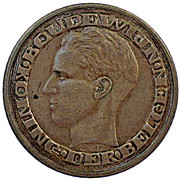 50 Francs - Baudouin I (Dutch text; Brussels World's Fair 1958) – obverse