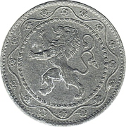 25 Centimes (German Occupation Coinage) -  obverse