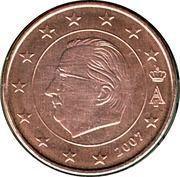 5 Euro Cent - Albert II (1st type, 1st portrait) -  obverse