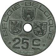 25 Centimes - Léopold III (BELGIE-BELGIQUE) – reverse