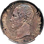 5 Francs - Leopold I (Pattern strike) – obverse