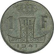 1 Franc - Léopold III (BELGIQUE-BELGIE) -  reverse