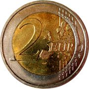 2 Euro - Albert II (Human Rights) – reverse