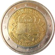 2 Euro - Albert II (Treaty of Rome) – obverse