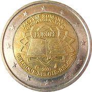 2 Euro - Albert II (Treaty of Rome) -  obverse