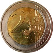 2 Euro - Albert II (Treaty of Rome) -  reverse