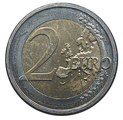 2 Euro - Albert II (Belgian Presidency of the EU) – reverse