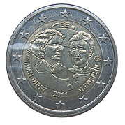 2 Euro - Albert II (100th Women's Day) – obverse