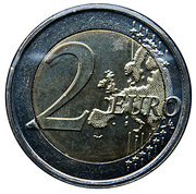 2 Euro - Albert II (100th Women's Day) – reverse