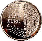10 Euro - Albert II (Expansion of the European Union) – obverse