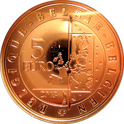 5 Euro - Albert II (Spirou) – obverse