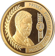 100 Euro - Albert II (Prince Philippe) – obverse