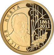 100 Euro - Albert II (Victor Horta) – obverse