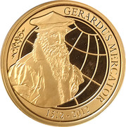 100 Euro - Albert II (Death of Mercator) – obverse
