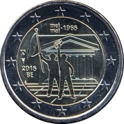 2 Euro (Events of May 1968) – obverse