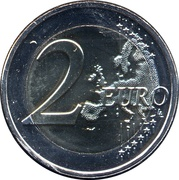 2 Euro (Events of May 1968) – reverse