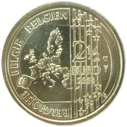 2 ½ Euro (Red Devils) – obverse