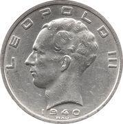 50 Francs - Léopold III (BELGIE:BELGIQUE) – obverse