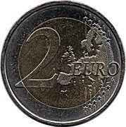 2 Euro (ESRO-2B) – reverse