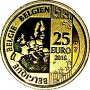 25 Euro (Hugo Claus) – obverse