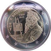 2 Euro (Pieter Bruegel the Elder) -  obverse