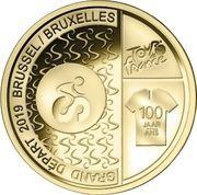 2½ euros (100 ans de maillot jaune) – reverse