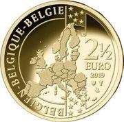2½ euros (100 ans de maillot jaune) – obverse