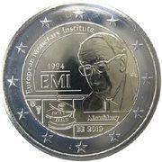 2 Euro  (European Monetary Institute (EMI) – obverse