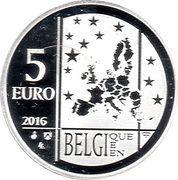 5 Euro (Emile Verhaeren) – obverse