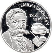 5 Euro (Emile Verhaeren) – reverse