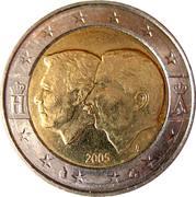 2 Euro - Albert II (Belgium-Luxembourg Economic Union) – obverse
