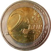 2 Euro - Albert II (10 Years of EMU) -  reverse