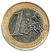 1 Euro - Albert II (2nd map, 2nd type, 1st portrait) -  reverse