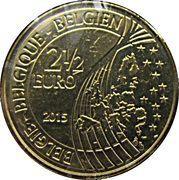 2 ½ Euro - Philippe (Bicentenary Battle of Waterloo) – obverse