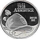 5 Euro (Armistice) – obverse