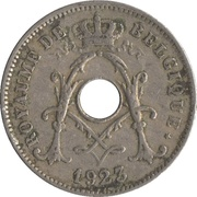10 Centimes - Albert I (French text) -  obverse