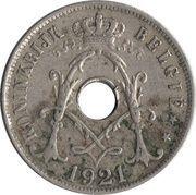 25 Centimes - Albert I (dutch text) – obverse