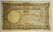 20 Francs - Albert I – reverse