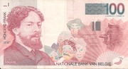 100 Frank (James Ensor) -  obverse