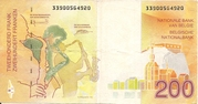 200 Francs -  reverse