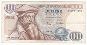 1000 Francs - Mercator – obverse