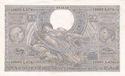 100 Francs | 20 Belgas – obverse