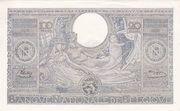 100 Francs | 20 Belgas – reverse