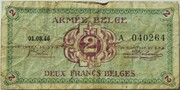 2 Francs (Army Issue) – obverse