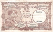 20 Francs Type 1926 Trésorerie – obverse