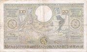 100 francs - 20 Belgas Type 1933 Recto français – reverse