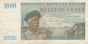 1,000 Francs -  reverse