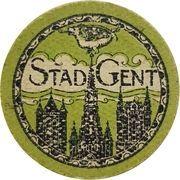 10 Centimes (Stad Gent) – obverse